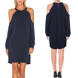 BCBGMaxAzria Josephine Dress Dark Navy Blue Shift